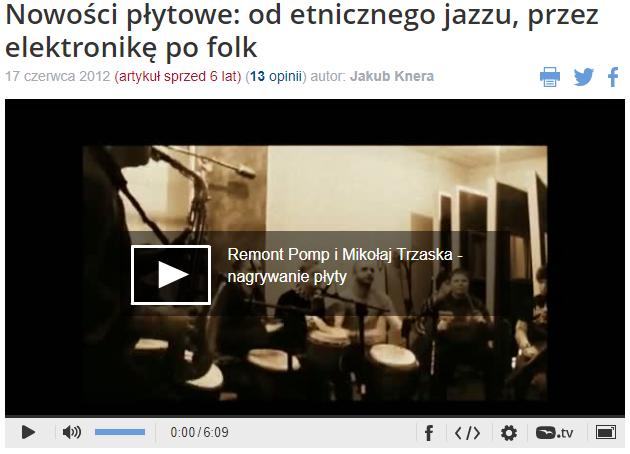 Nowości płytowe: od etnicznego jazzu, przez elektronikę po folk
