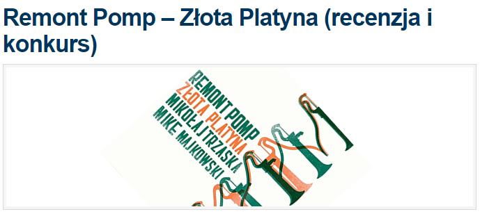 Remony Pomp - Złota Platyna (recenzja i konkurs)