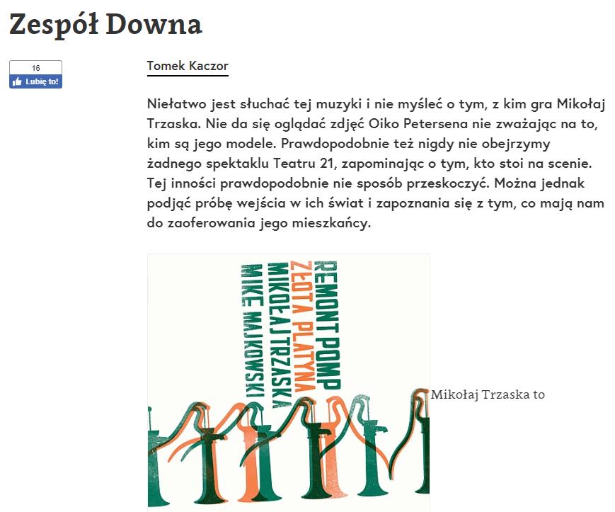Zespół Downa